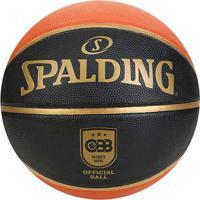 Bola De Basquete Spalding Tf 150 Oficial Cbb - Unissex