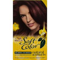 Tintura Creme Soft Color Wella Púrpura 566 Kit