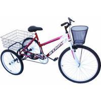 Triciclo Adulto Onix - Unissex
