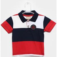 Camisa Polo Infantil Milon Masculina - Masculino