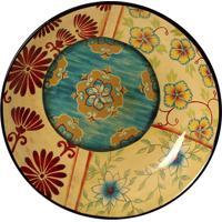Prato De Parede Decorativo De Porcelana Jemel