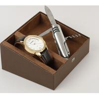Kit De Relógio Analógico Mondaine Masculino + Canivete - 83396Gpmvdh1K Dourado - Único