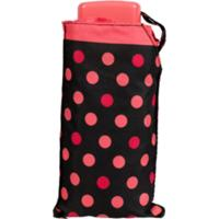 Guarda-Chuva Fazzoletti Mini Mini Resistente Ao Vento Poá Vermelha