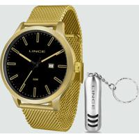 Kit Relógio Masculino Lince Mrg4494S Kp1Kx