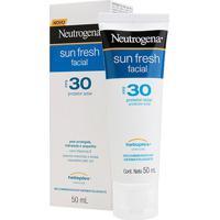 Protetor Solar Facial Neutrogena Sun Fresh Fps 30 50Ml - Unissex-Incolor