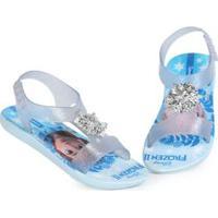 Sandália Infantil Frozen Azul Azul