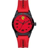 Relógio Scuderia Ferrari Infantil Borracha Vermelha - 860008