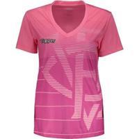 Camisa Topper Vitória 2018 Outubro Rosa Feminina - Feminino