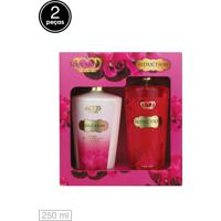 Kit 2Pçs Love Secret Loção Deo Coporal Body Splash Seduction