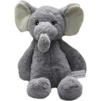 Pelúcia Grande - Animal Chocalho - Elefante - Minimi