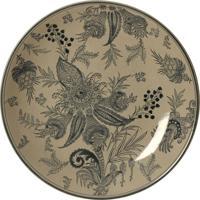 Prato De Parede Decorativo De Porcelana Gondar
