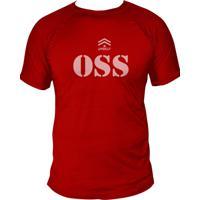 Camiseta Uppercut Jiu-Jitsu Dry Fit Oss Vermelho - Vermelho - Masculino - Poliã©Ster - Dafiti