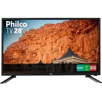 """Tv Led Hd 28"""" Hdmi/Usb Philco Bivolt Ph28N91D"""