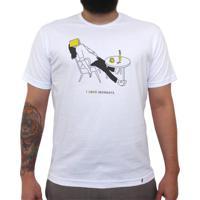 I Love Mondays - Camiseta Clássica Masculina