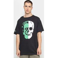 Camiseta Ellus Halloween Herchcovitch Frankstein Masculina - Masculino