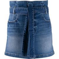 Frame Saia Jeans - Azul