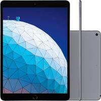 Tablet Apple Ipad Air 3º Geração 10.5'' Wi-Fi + Cellular 256Gb Cinza Espacial Mv1D2