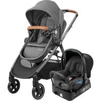 Carrinho De Bebê Travel System Maxi Cosi Anna Cinza Com Bebê Conforto