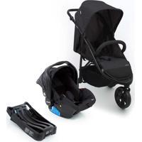 Carrinho De Bebê Travel System Infanti Collina Trio Black Style Cax00447