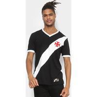Camiseta Vasco Retrô Mania 1948 Masculina - Masculino
