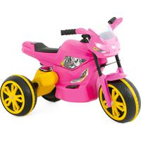 Moto Elétrica 6V Xturbo Rosa Xalingo