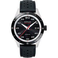 Relógio Montblanc Masculino Borracha Preta - 116059