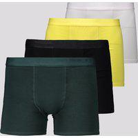 Kit De 4 Cuecas Boxer Lupo Elastic Soft
