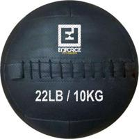 Wall Ball Medicine Ball Bola De Couro 10Kg P/ Crossfit, Treinamento Funcional - Enforce Fitness - Unissex