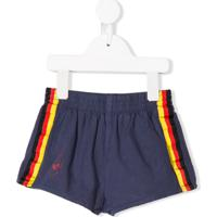 The Animals Observatory Short Com Listra Lateral - Azul
