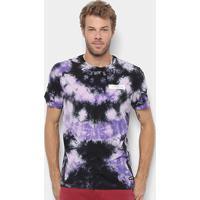 Camiseta Element Xapa Dyed-El01A0521 - Masculino-Roxo