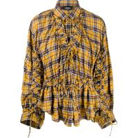 Dsquared2 Camisa Xadrez - Amarelo