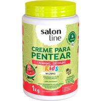 Creme Para Pentear Salon Line Cachinhos Definidos 1Kg - Unissex