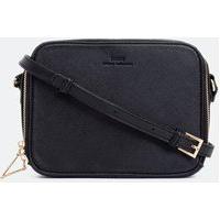 Bolsa Transversal Camera Bag | Satinato | Preto | U