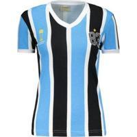 Camisa Retrômania Grêmio 1983 Mundial Feminina - Feminino