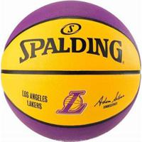e5bc04ad81 Bola Basquete Spalding Nba Lakers - Unissex