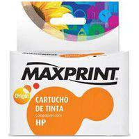 Cartucho De Tinta Maxprint Para Hp - 60Xl Preto Cc641