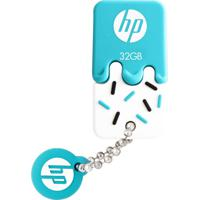 Pen Drive Mini Hp V178B Ice Cream 32Gb Usb 2.0 Azul