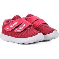 Tênis Infantil Kurz Têxtil Velcro Sport Masculino - Feminino-Pink
