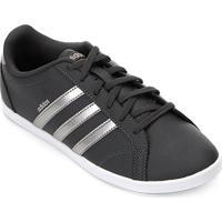 da2de1c9158e1 ... Tênis Adidas Coneo Qt Feminino - Feminino-Preto+Prata