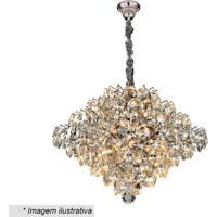 Lustre Diamond- Cristal & ÂMbar- 24X51X51Cm- Bivhevvy