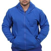 Blusa Ramazzoni Frio Moletom Ziper Masculina - Masculino-Azul