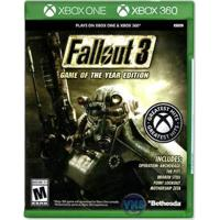 Jogo Fallout 3 Game Of The Year Edition Xbox 360 / Xbox One - Unissex