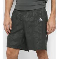 Short Adidas Run It Masculina - Masculino-Chumbo