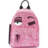 Chiara Ferragni Kids Flirting Backpack - Rosa