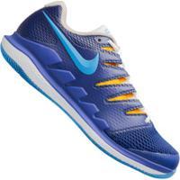 Tênis Nike Air Zoom Vapor X Hc - Masculino - Azul Esc/Branco