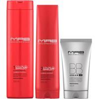 Mab Color Shield + Bb Cream Kit - Shampoo + Condicionador Leave-In Bb Cream Kit - Unissex-Incolor