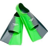 Nadadeiras Training Fin Dual Verde Claro Silicone Speedo