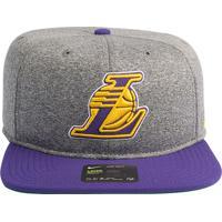 Boné Nike Nba Los Angeles Lakers Arobill Pro Heather - U