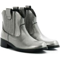 Bonpoint Western Ankle Boots - Metálico