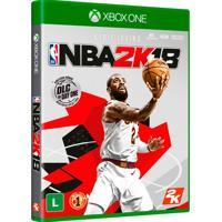 Jogo Nba 2K18 Para Xbox One (Xone) - 2K